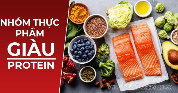 Tìm hiểu lựa chọn được những thực phẩm giàu Protein đảm bảo chế độ dinh dưỡng đầy đủ, hỗ trợ tăng cơ bắp nhanh chóng dành cho người tập gym, thể hình ...