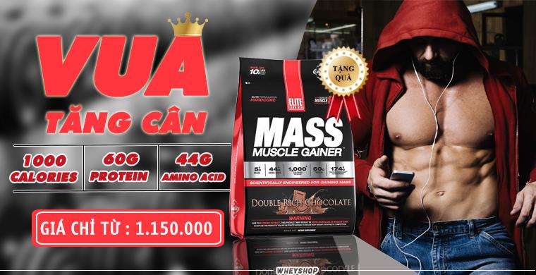1 Muỗng Mass bao nhiêu gam bột và cung cấp bao nhiêu protein , tinh bột , chất béo ? 1
