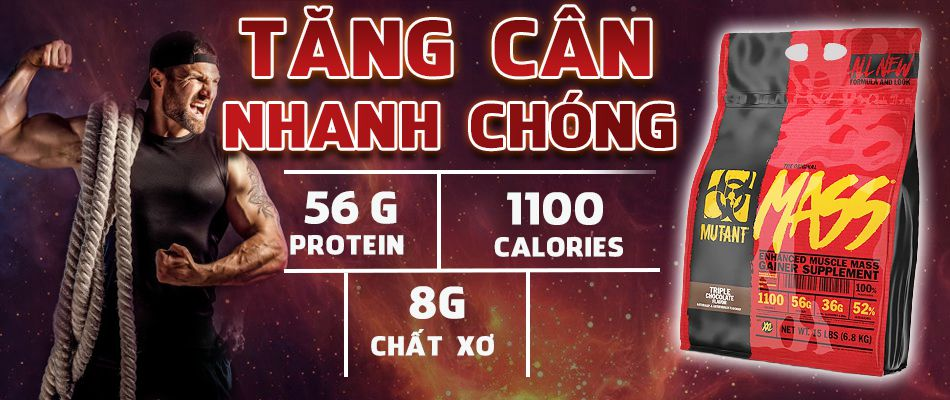 Mutant Mass 15lbs tang can tang co hieu qua gia re chinh hang WHEYSHOP VN