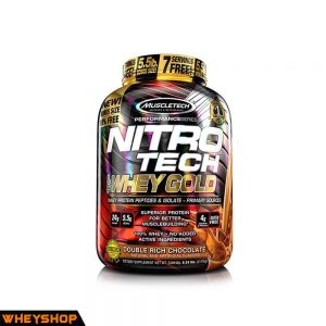 Nitrotech whey gold 55lbs tang co gia re chinh hang