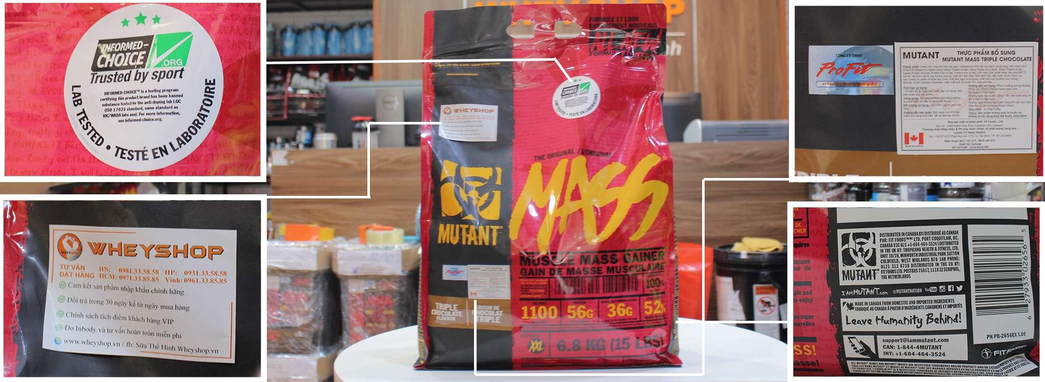 mutant mass 6,8kg gia re ha noi tphcm
