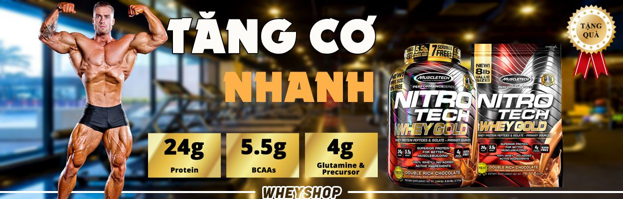 Nitrotech whey gold (8lbs) 1