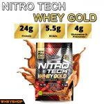 nitrotech whey gold ́8lbs