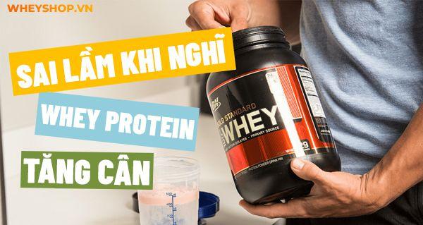 Chắc hẳn nhiều bạn vẫn đang băn khoăn về whey protein tăng cân. Hãy cùng WheyShop tìm hiểu chi tiết whey protein tăng cân hay không...