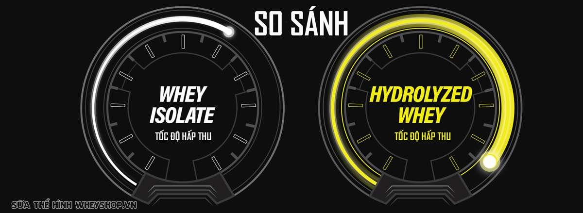 so sanh whey isolate và hydrolyzed toc do hap thu 1