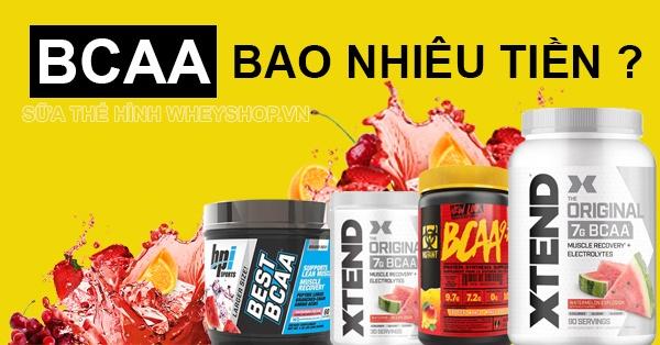 BCAA cũng có khá nhiều loại mẫu mã và thành phần dinh dưỡng khác nhau. Từ đó, chắc chắn mức giá cũng sẽ khác nhau. Vậy BCAA bao nhiêu tiền? Hãy...