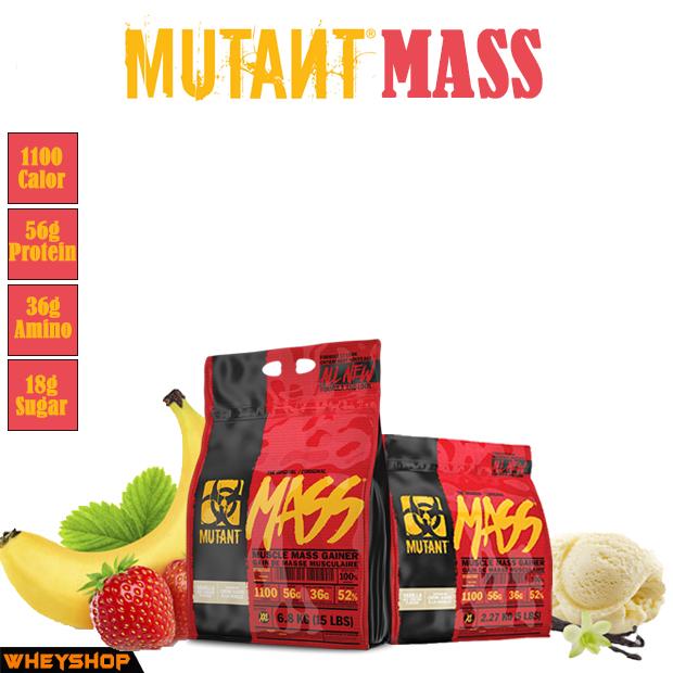 MUTANT MASS là sản phẩm tăng cân tăng cơ nhanh chóng của thương hiệu Mutant ✅ MUTANT MASS được nhập khẩu chính hãng công ty, phân phối