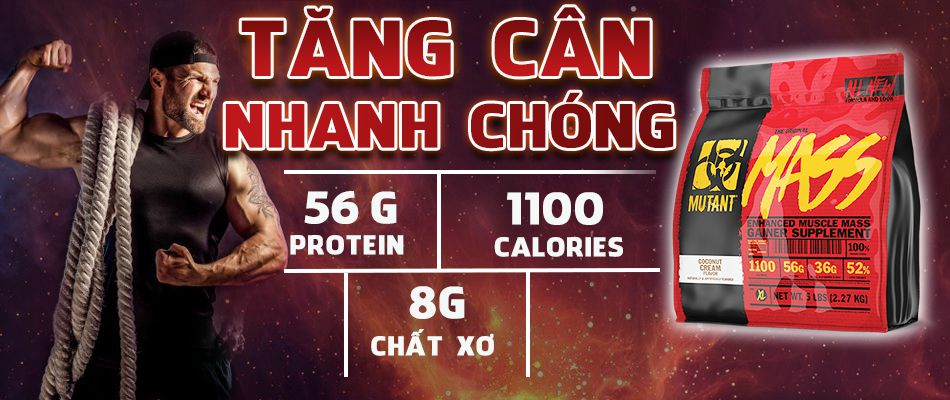 Mutant Mass 5lbs tang can tang co hieu qua gia re chinh hang WHEYSHOP VN