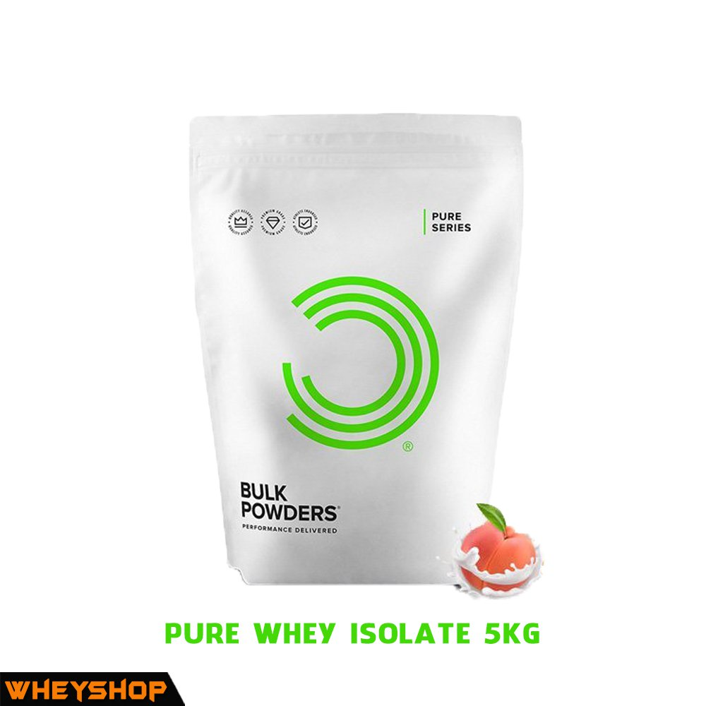 PURE WHEY ISOLATE 5kg tang co chinh hang gia re WHEYSHOP VN
