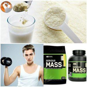 sữa tăng cân dành cho người tập gym
