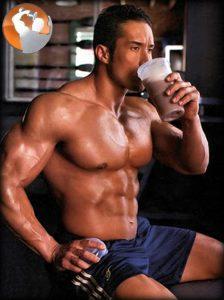 sữa thể hình tăng cân