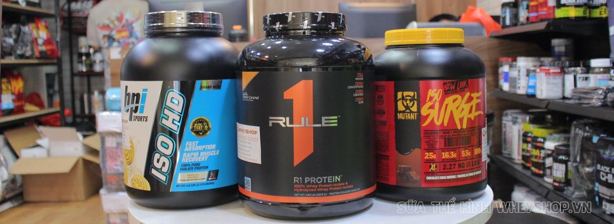 Whey protein bao nhiêu tiền? Có nên mua Whey Protein giá rẻ không? Cảnh giác với các sản phẩm được chào mời Whey Protein giá rẻ tràn lan thị trường...