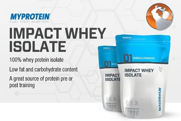 Whey protein isolate giá bao nhiêu?