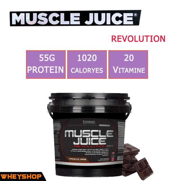 MUSCLE JUICE REVOLUTION 11lbs (5kg) chính hãng tại Wheyshop