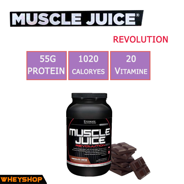 MUSCLE JUICE REVOLUTION 4.69 lbs (2.1kg), đánh giá Muscle Juice