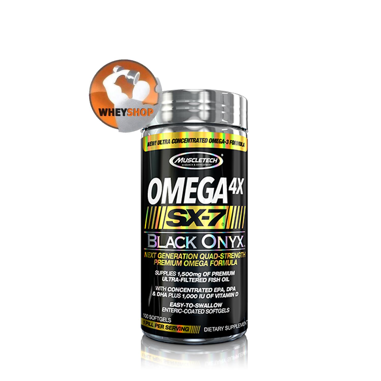 OMEGA 4X SX-7 BLACK ONYX