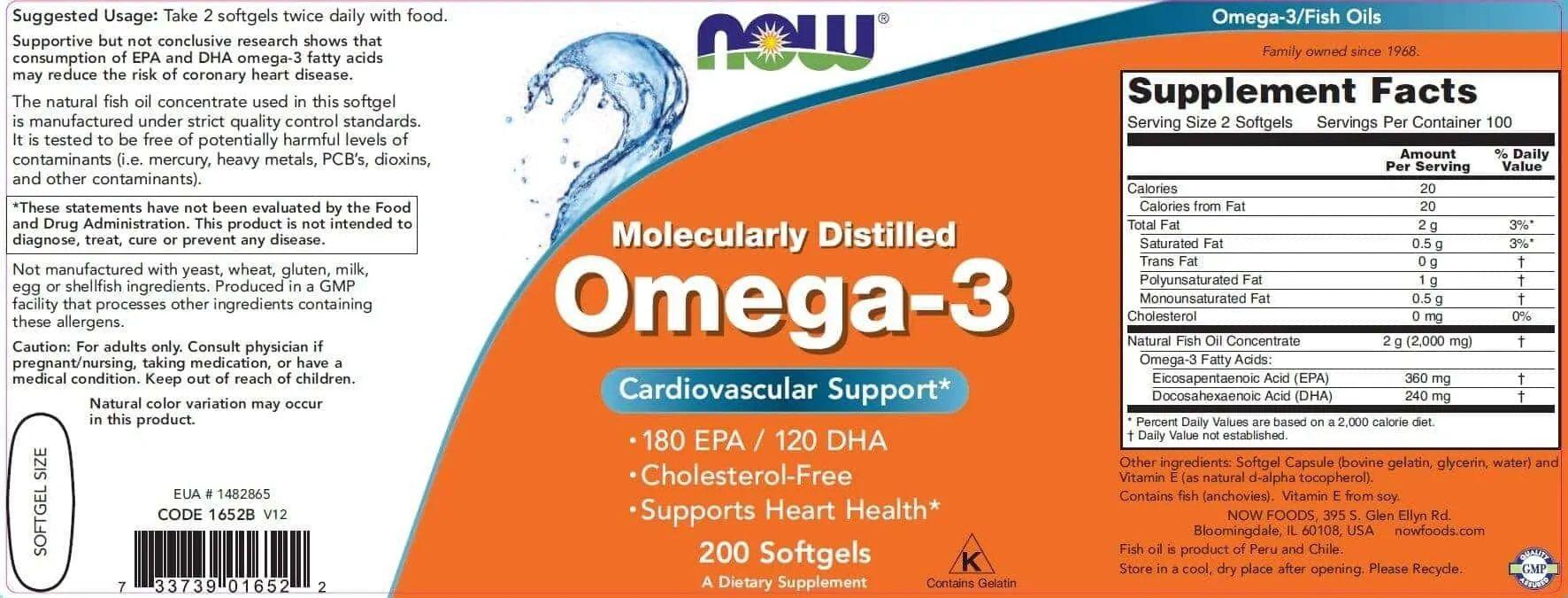 Now Omega-3 200 viên 2