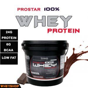 Prostar Whey 10lbs (4.5kg) 100% whey protein - Dinh Dưỡng Thể Hình - Whey protein chính hãng