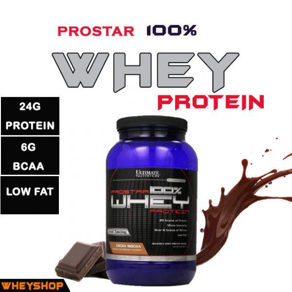Prostar Whey Protein 2lbs (900g) có tốt không Mua chính hãng ở đâu