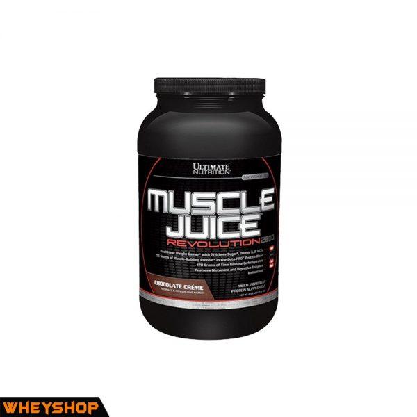 MUSCLE JUICE REVOLUTION 4,69lbs ( 2,1kg ) 1