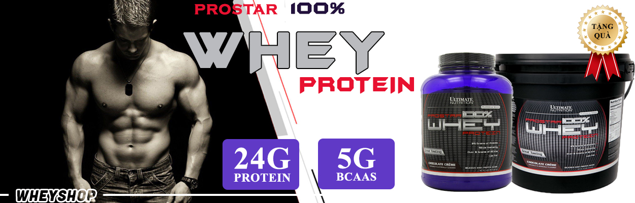 prostar whey hỗ trọ phát triển cơ bắp