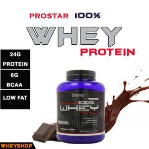 Prostar whey protein ultimate chính hãng wheyshop