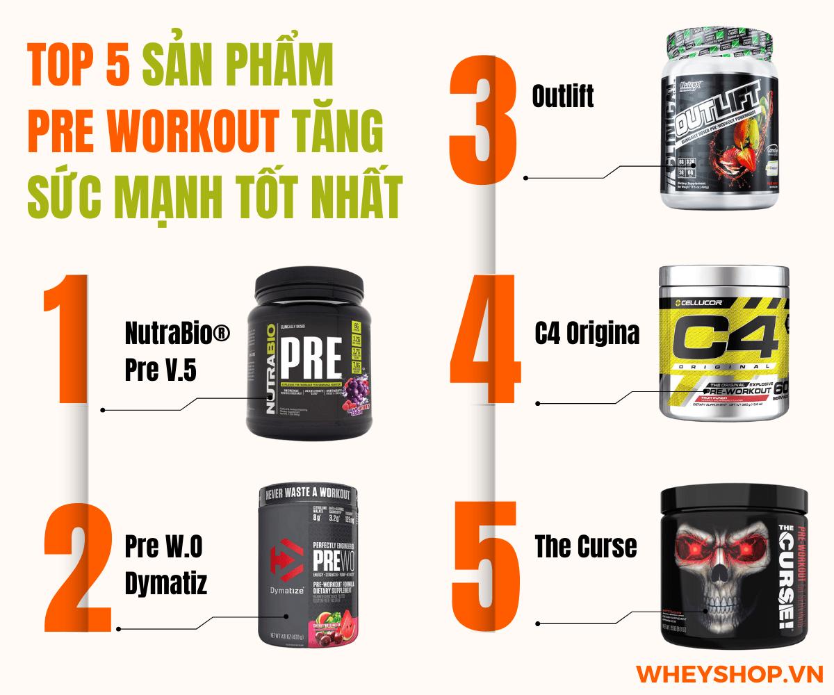 Pre-Workout Tăng Sức Mạnh là gì? Hôm nay Whey Shopsẽ cùng các bạn tìm hiểu dòng thực phẩm bổ sung tăng sức mạnh hỗ trợ buổi tập luyện trở nên hiệu quả hơn.