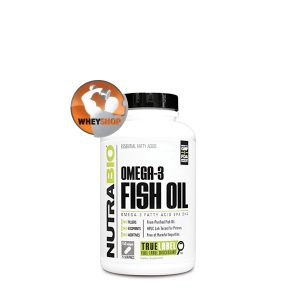NutraBio® Fish Oil bổ sung Omega-3 tốt nhất cho sức khỏe