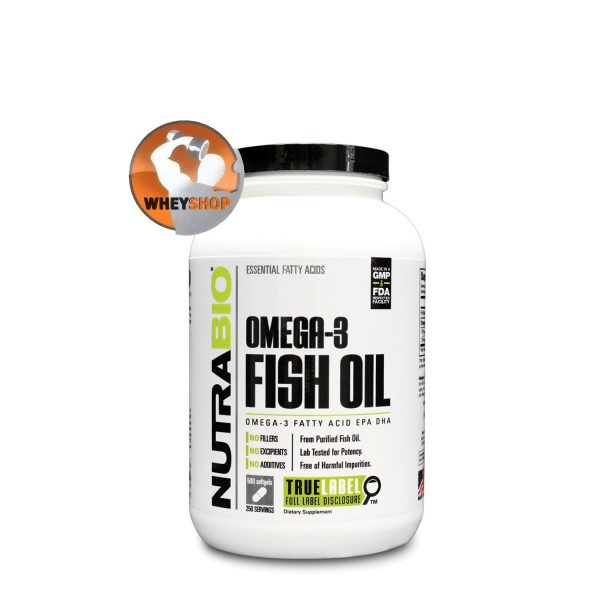 NutraBio® Fish Oil bổ sung Omega-3 tốt nhất cho sức khỏe tại HN & Tp.HCM