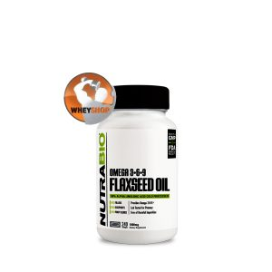 NutraBio® Flaxseed Oil 240 viên cung cấp Omega-3-6-9 từ 100% hạt Lanh