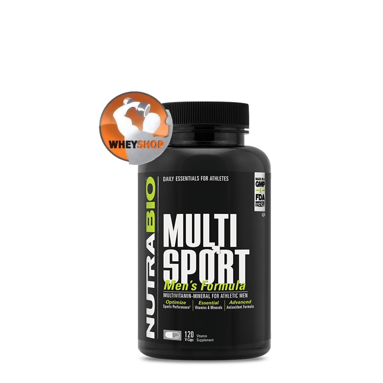 NutraBio® MULTISPORT 120 viên bổ sung vitamin , khoáng chất tốt nhất