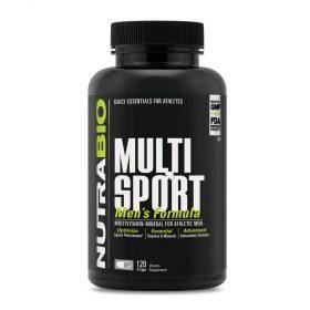 Tìm hiểu về NutraBio MultiSport 120 viên : Sản phẩm bổ sung 33 nguồn vitamin, khoáng chất và chất chống oxy hóa tốt nhất cho nam giới