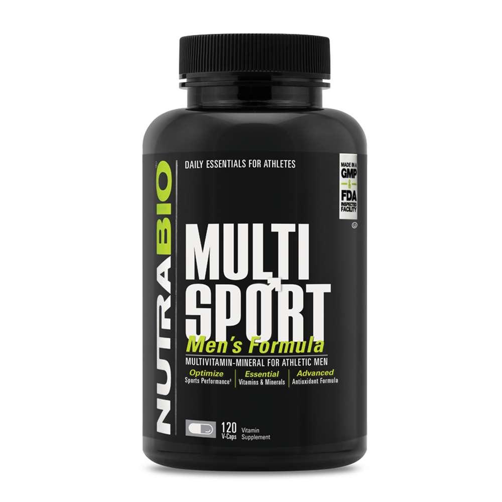 NutraBio® MULTISPORT 120 viên : Sản phẩm bổ sung 33 nguồn vitamin, khoáng chất và chất chống oxy hóa tốt nhất cho nam giới. NutraBio® MULTISPORT 120 viên nhập khẩu chính hãng, cam kết chất lượng, giá rẻ nhất tại Hà Nội & Tp.HCM.