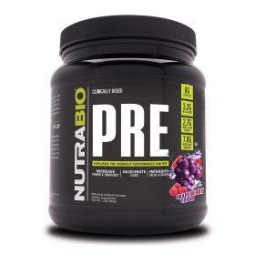 NutraBio PRE V5 20 servings : sản phẩm tăng sức mạnh , tăng sức mạnh và sức bền tập luyện, tăng cường hiệu suất tập luyện. NutraBio PRE V5 20 servings nhập khẩu chính hãng, cam kết chất lượng, giá rẻ nhất tại Hà Nội & Tp.HCM.