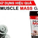 Cách dùng Muscle Mass hiệu quả