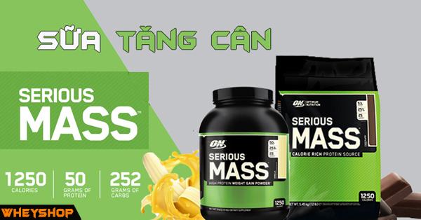 Cách dùng Serious Mass