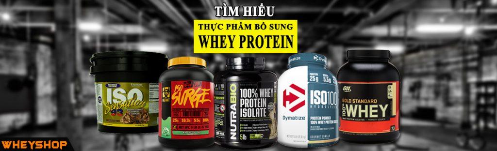 Whey Protein là gì? Whey Protein nào tốt nhất? Có nên sử dụng Whey Protein ? 2