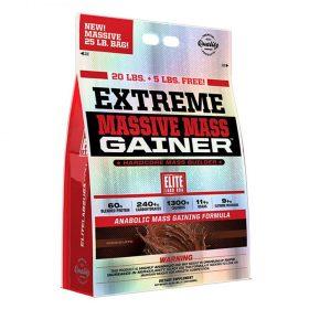 Extreme Massive Mass Gainer 25lbs/11.34kg dành riêng cho người muốn tăng cân tăng cơ nhanh; Cung cấp hơn 1270 calories