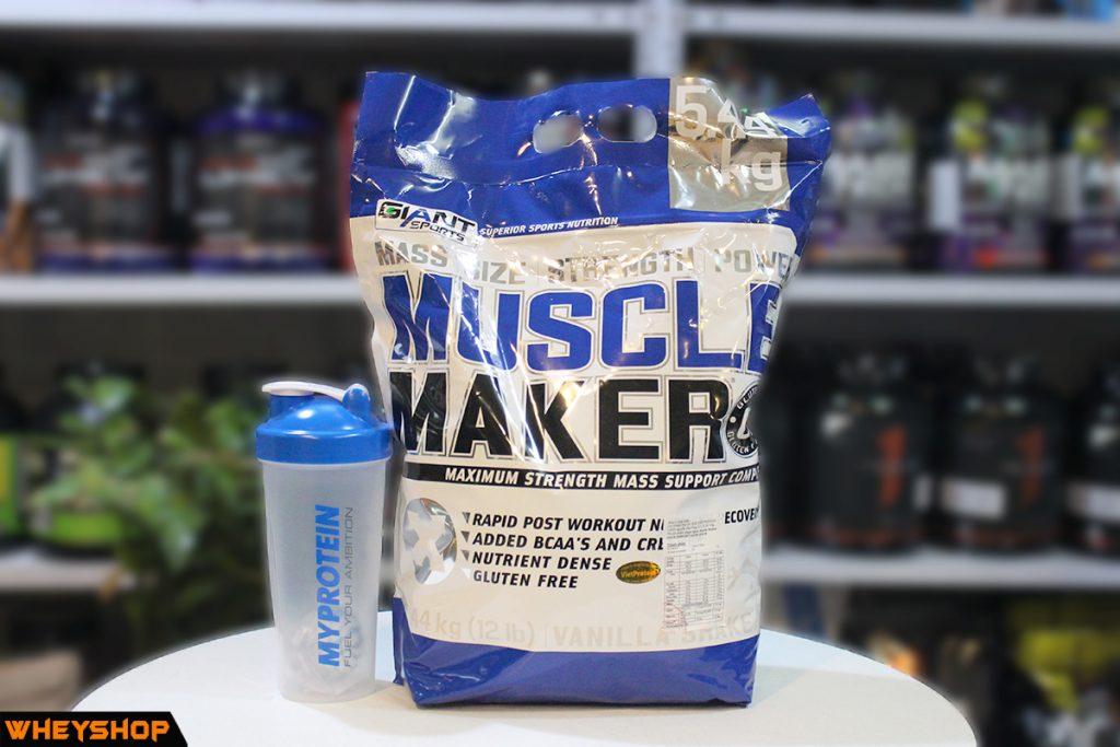 Muscle maker tăng cân tăng cơ nhanh, chính hãng, tốt nhất Hà Nội & Tp HCM WHEYSHOP