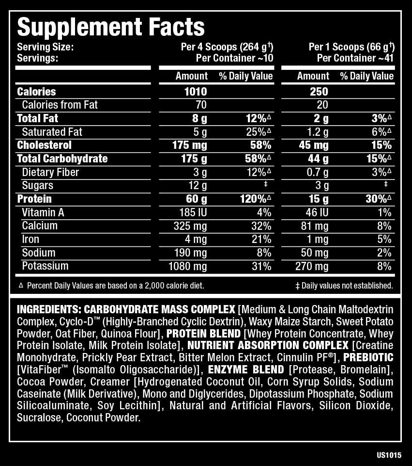 Allmax Quick Mass 12lbs (5,4kg) 2