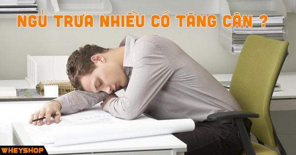 Ngủ trưa nhiều có tăng cân không