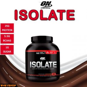 ON Isolate 3lbs (1,38kg)