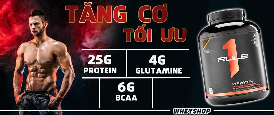 Danh gia whey rule 1 protein whey protein la gi