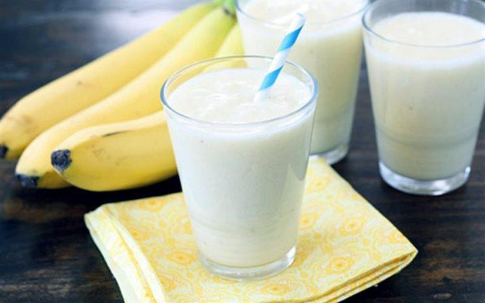 giảm cân bằng chuối và sữa chua