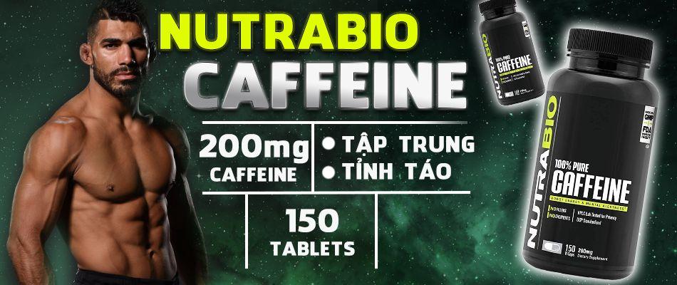NUTRABIO CAFFEINE 150 1
