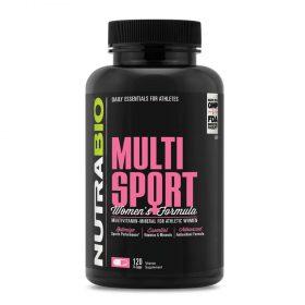 NutraBio Multi Sport for Women bổ sung Vitamin tổng hợp cho nữ giới : với hơn 30 loại vitamin và khoáng chất dành riêng cho nữ giới để duy trì sức khỏe.NutraBio Multi Sport for Women nhập khẩu chính hãng, cam kết chất lượng, giá rẻ nhất tại Hà Nội & Tp.HCM.