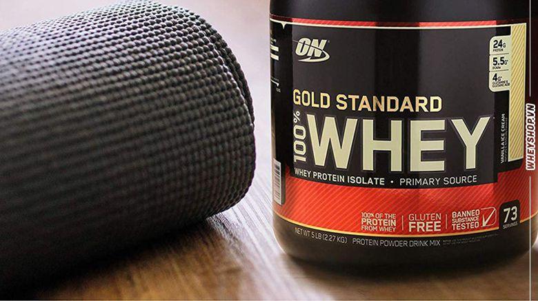 danh gia whey gold standard co tot khong whey protein la gi