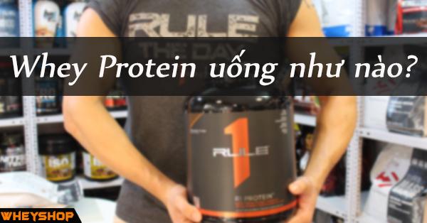 whey protein uong nhu nao