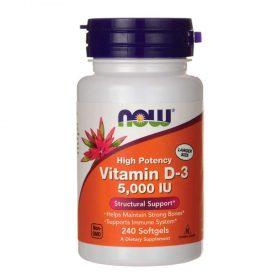NOW Vitamin D3 5000IU 120 viên hỗ trợ tăng sức đề kháng, sức khỏe xương khớp, tăng cường sinh lý. NOW Vitamin D3 5000IU 120 viên nhập khẩu chính hãng, cam kết chất lượng, giá rẻ nhất tại Hà Nội & Tp.HCM.