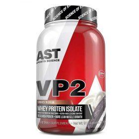 Sữa tăng cơ VP2 Whey Protein cung cấp 23g Whey Isolate và Hydrolyzed Whey Isolate. AST VP2 kích thích cơ nạc phát triển tối đa và hỗ trợ giảm mỡ.